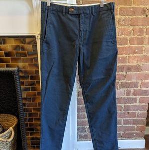 Zara Men's Navy Pants 31 Waist